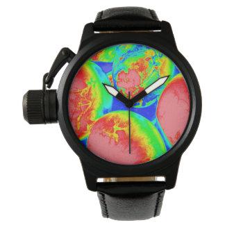 fluorescent eggs 1 wrist watch