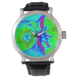 fluorescent fruit green watches