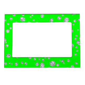 Fluorescent Green Magnetic Frame
