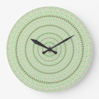 Fluorescent Green Pearl Wall Clock
