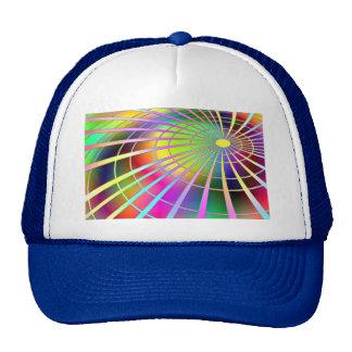 fluorescent image trucker hat