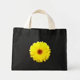Fluorescent Marigold Tote Bag
