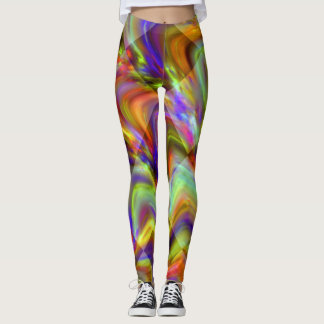 Fluorescent multicolor Leggings