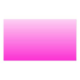 Fluorescent Pink Gradient Business Cards