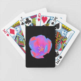 Fluorescent Tulip Playing Cards