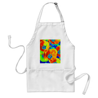 fluorescent tulips standard apron