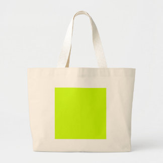 Fluorescent Yellow Tote Bag