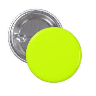 Fluorescent Yellow Simple Single Color 3 Cm Round Badge