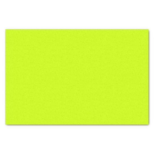 Fluorescent Yellow Tissue Paper