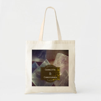 Fluorite Gemstone Personalized Wedding Tote Bag