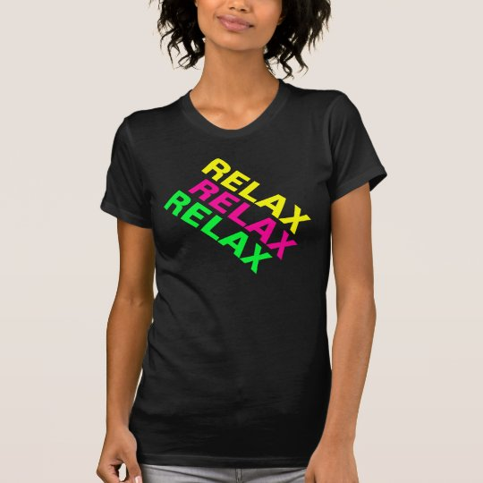 Fluro 80s Relax Gym Shirt