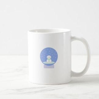 Flurrball Snow Globe Basic White Mug