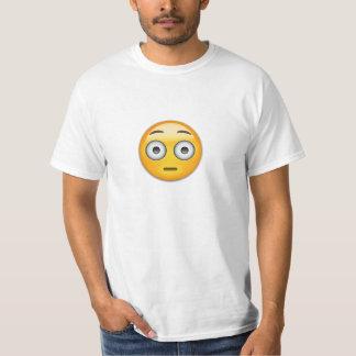 Flushed Face Emoji T-Shirt