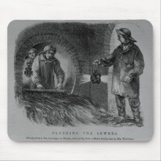 Flushing the Sewers Mouse Mat