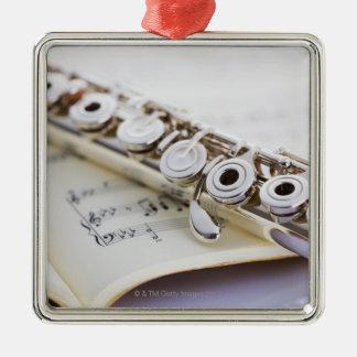 Flute 2 christmas ornament