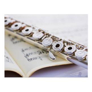 Flute 2 postcard