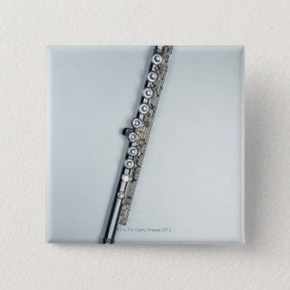 Flute 3 15 cm square badge