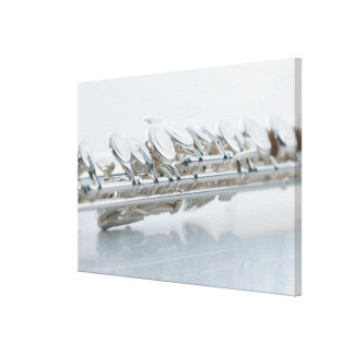 Flute 3 stretched canvas print