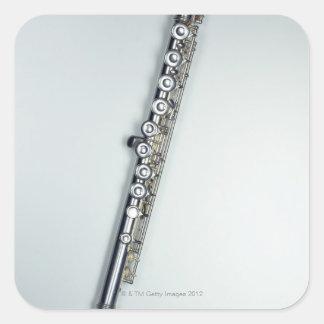 Flute 3 square sticker