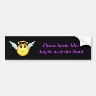 Flute Angel Bumper Sticker