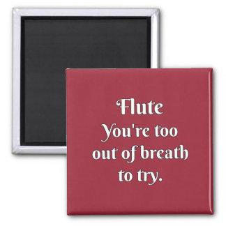 Flute Attitude! Refrigerator Magnets