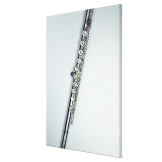Flute Stretched Canvas Print