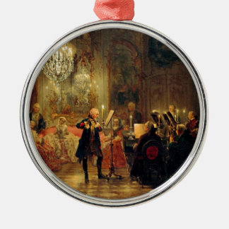 Flute Concert with Frederick the Great Christmas Ornament