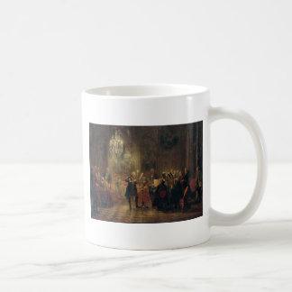 Flute Concert with Frederick the Great Sanssouci Basic White Mug