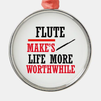 flute design christmas tree ornament