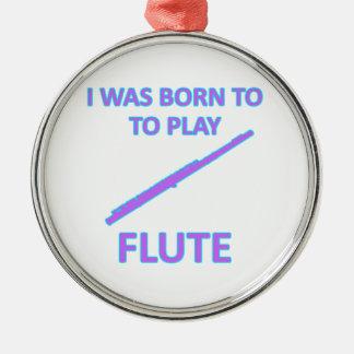 Flute Designs Christmas Ornament