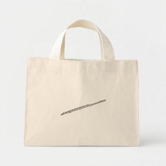"""Flute """"Drawing"""" Mini Tote Bag"""
