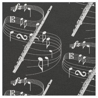 Flute Fabric - Dark