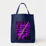 Flute Flautist Musician Shopping Bag