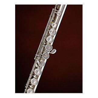 Flute Flutist Musician Postcard