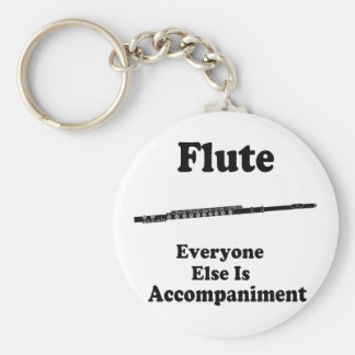 Flute Gift Key Ring