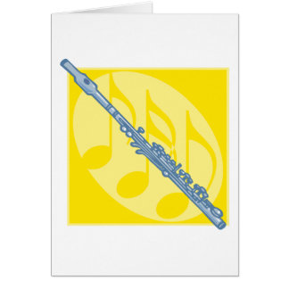 Flute Greeting Cards