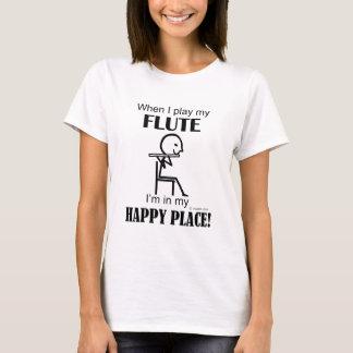 Flute Happy Place T-Shirt