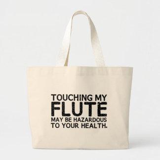 Flute Hazard Large Tote Bag