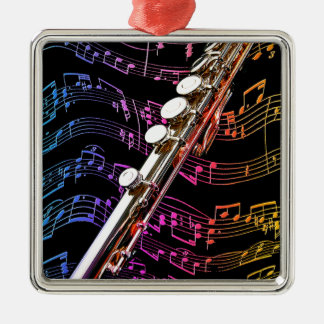 Flute is my Passion_ Christmas Tree Ornaments