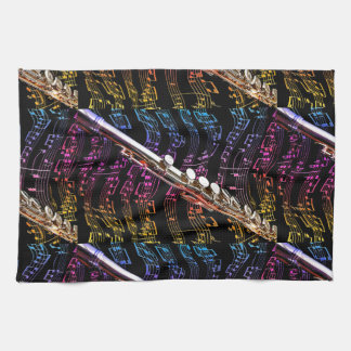 Flute is my Passion_ Tea Towel