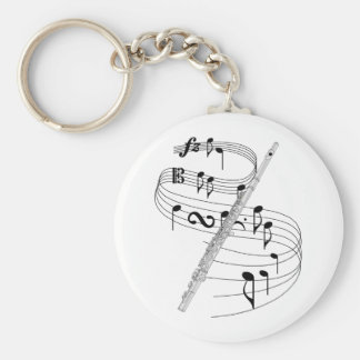 Flute Key Ring