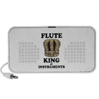 Flute King of Instruments Mp3 Speakers