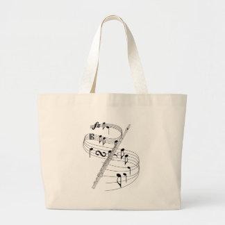 Flute Large Tote Bag