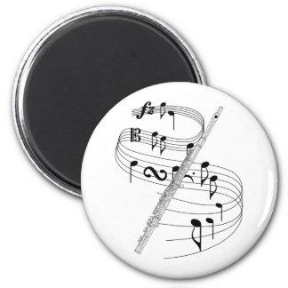 Flute Fridge Magnet
