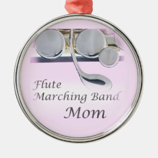 Flute Marching Band Mom Christmas Ornament