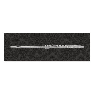 Flute Marks the Spot Pack Of Skinny Business Cards