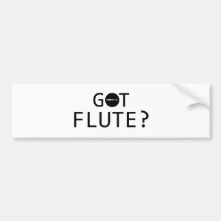 FLUTE music designs Bumper Sticker