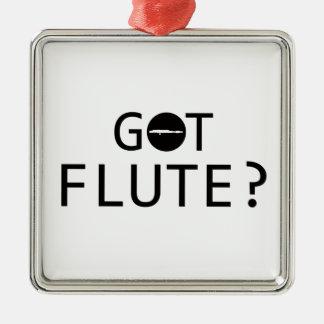 FLUTE music designs Christmas Ornament