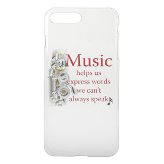 Flute Music Helps Us Express Words Smart Phone iPhone 7 Plus Case