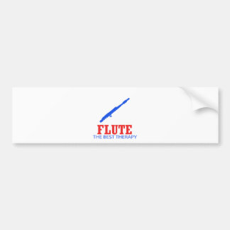 Flute Musical designs Bumper Sticker